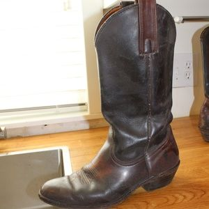 Frye Billy Pull on Western Cowboy Boot Two-tone